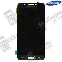 Дисплей Samsung J5 2016 (модуль экран + тачскрин) J510 Black, GH97-19466B
