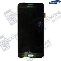 Дисплей Samsung J7 2015 (модуль экран + тачскрин) J700 Black, GH97-17670C
