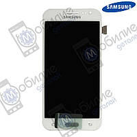 Дисплей Samsung J2 2015 (модуль экран + тачскрин) J200 White