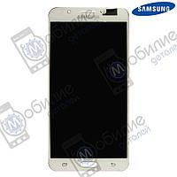 Дисплей Samsung J7 2016 (модуль экран + тачскрин) J710 White