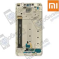 Дисплей Xiaomi Redmi Note 4 (модуль экран + сенсорное стекло) White/Silver