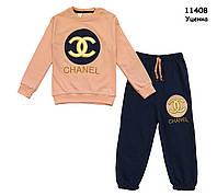 Спортивный костюм Chanel для девочки. 7 лет