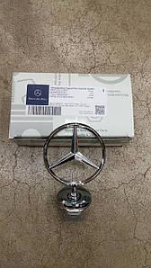 Емблема значок на капот Mercedes C-Class W205 2014-2019 Новий Оригінальний