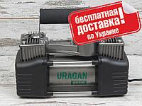 Автокомпрессор URAGAN 90170 (двухцилиндровый)