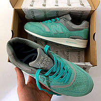 "Кроссовки New Balance 997 ""Turquoise/Grey/White"", фото 2"