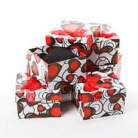 "Подарочная коробочка ""подушка"" Сердца"