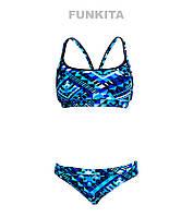 Женский раздельный купальник Funkita Speed Boxer FS02, фото 1