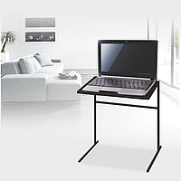 Стол для ноутбука Commus Комфорт венге/bl М17