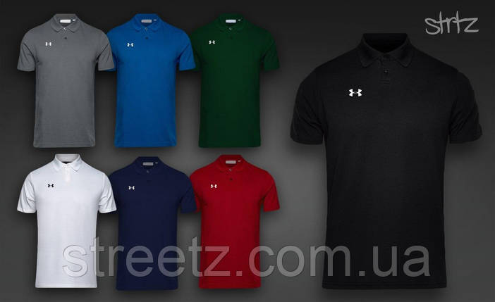 Футболка Поло Under Armour Polo Shirt, фото 2