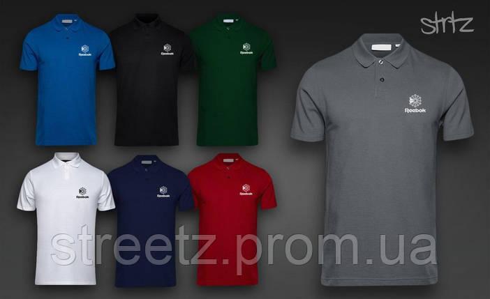Футболка Поло Reebok Classic Polo Shirt, фото 2