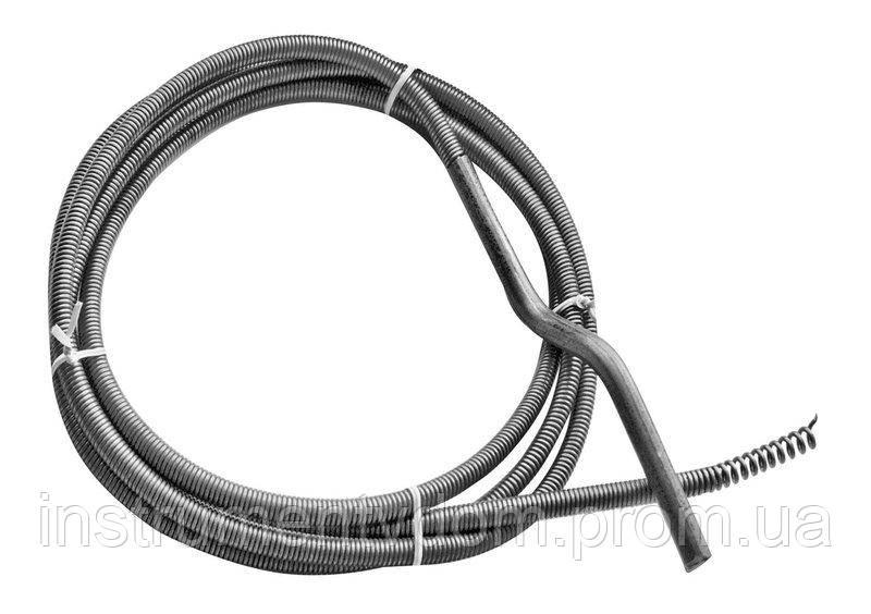 Трос канализационный пружинный, 25 м, d=12 мм (упаковка 3 шт)
