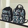 Школьный рюкзак с листьями, фото 3