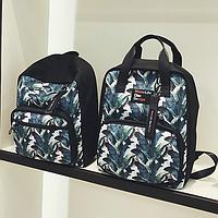 Школьный рюкзак с листьями