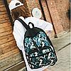 Школьный рюкзак с листьями, фото 2