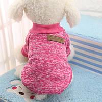 Одежда для любимых питомцев, осень-зима M, Розовый