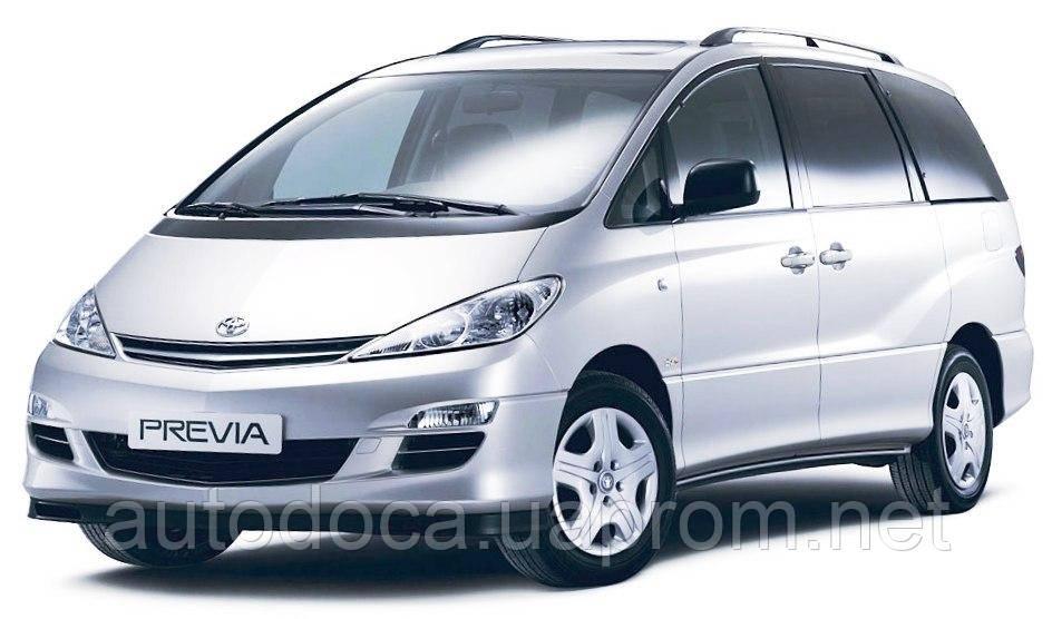 Защита картера двигателя и кпп Toyota Previa 2000-