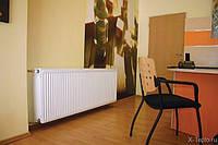 Установка стального радиатора, фото 1