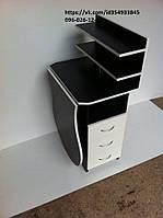 """Маникюрный стол """"Стандарт"""" складной в черно-белом цвете"""