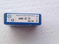 Подшипник ZKL 6000 C3 2Z (10x26x8) однорядный с тепловым зазором, фото 1