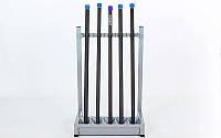 Подставка (стойка) для бодибаров (металл, р-р 64х54х97 cм)