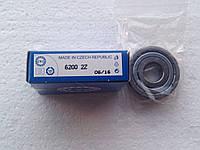 Подшипник ZKL 6200 2Z (10x30x9) однорядный