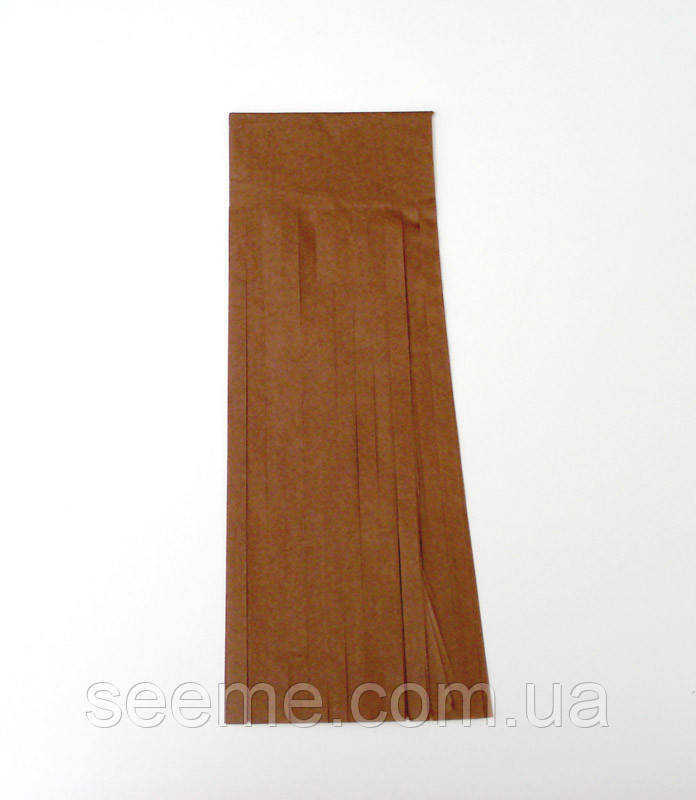 Бумажная гирлянда-кисточка из тишью «Raw Sienna», набор из 5 шт.