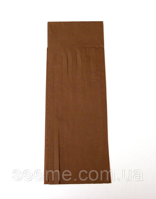 Бумажная гирлянда-кисточка из тишью «Chocolate», набор из 5 шт.
