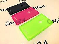 Чехол накладка бампер для Nokia Lumia 925 (3 цвета)