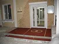Резиновая плитка напольная для магазинов