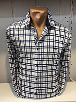 Мужская рубашка в клетку BLACK STONE