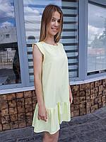 """Женское летнее платье """"Крыло"""" ТМ Dives"""