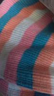 Трикотажное полотно кашкорсе с начесом полоса