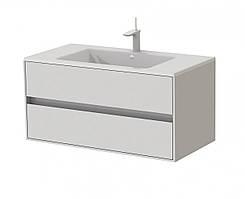 Тумба для ванной с умывальником Botticelli Torino Tr-100 белая