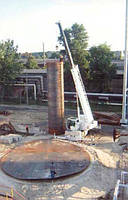Демонтаж резервуаров для перевозки на другое место