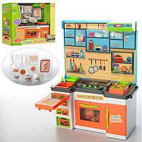Мебель K1501A-3 (24шт) кухня 22см, свет, посуда, на бат-ке(табл), в коробке 28-31-11см