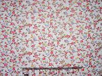 Ткань мелкий цветочный рисунок 46х50