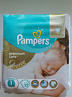Подгузники Памперс Pampers Premium Care 1