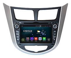 Штатная магнитола Hyundai Accent 2011+ android 5.1 (AHR-2487) INCar