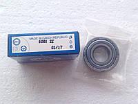 Подшипник ZKL 6001 2Z (12x28x8) однорядный