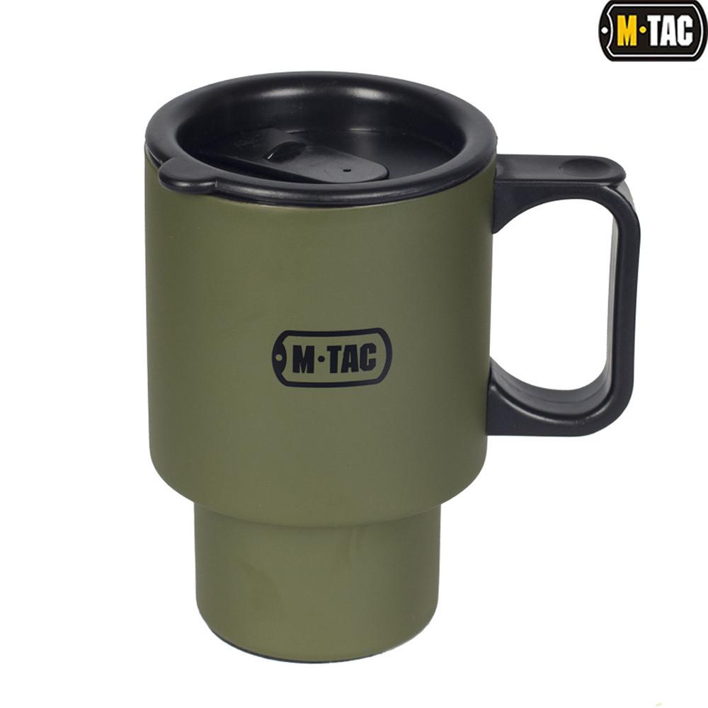 M-Tac термокружка 450 мл с крышкой Olive