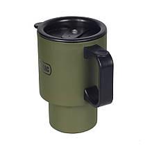 M-Tac термокружка 450 мл с крышкой Olive, фото 3