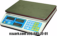 Весы торговые без стойки VP-LN - 30 кг.