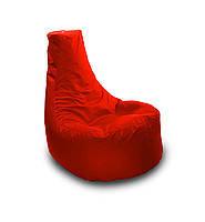 Красное бескаркасное кресло-мешок Кайф из Оксфорда