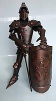 Фигура Рыцаря ручной работы с минибаром в щите. Высота 66 см
