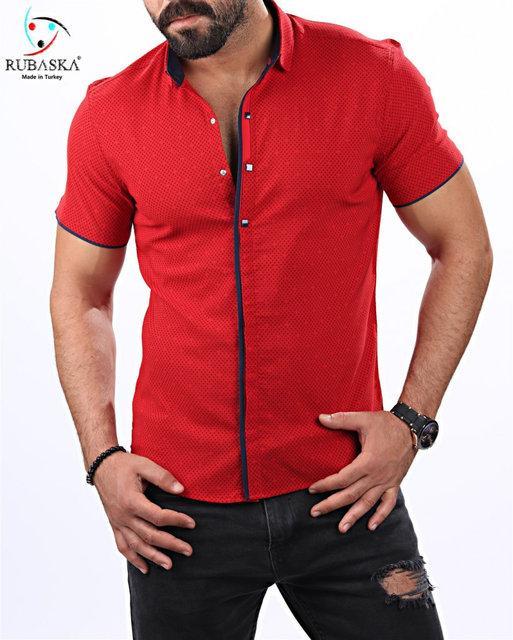 Яркая качественная мужская рубашка оптом и в разницу