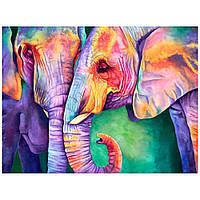 """Акриловий живопис за номерами КНО 2456 """"Індійські фарби"""" полотно 40*50 см без коробки ТМ Ідейка"""