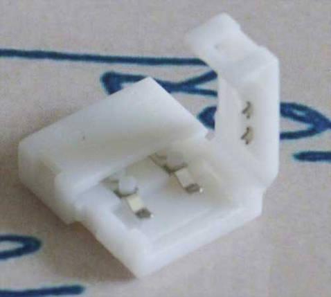 Разъем(коннектор) для светодиодной ленты 8мм. защелки с двух сторон, фото 2