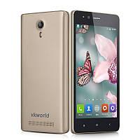 "Смартфон Vkworld F1 Gold 2sim, экран 4.5""IPS, 1/8Gb, 5/2Мп, GPS, 3G, 4 ядра, Android 5.1"