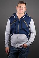 Мужская толстовка Olis Style Эдмон Серый, фото 1