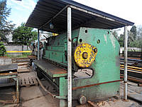 Порубка металла на гильотине